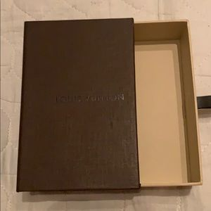 Authentic small Louis Vuitton gift box